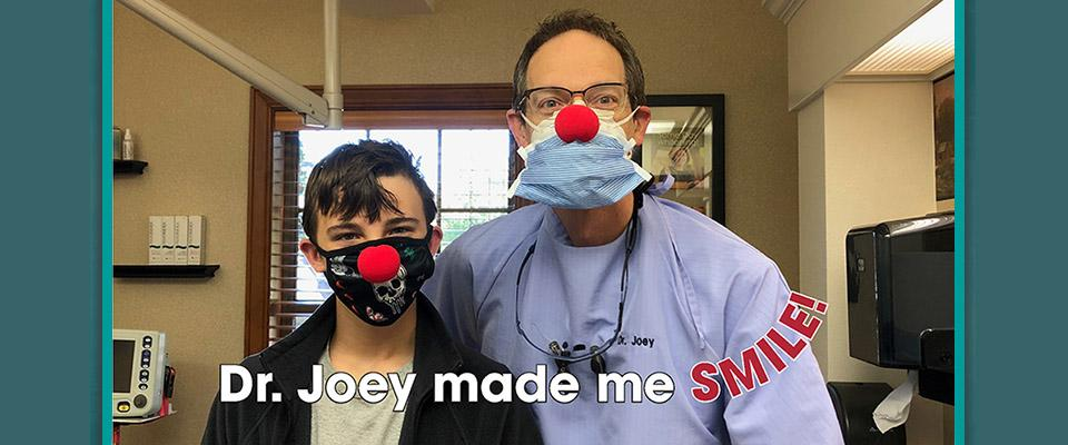 Dr. Joey made me smile!