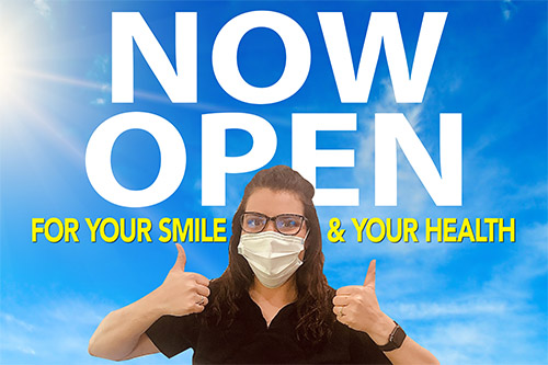 J de Graffenried Dentistry re-opens Monday, May 4!